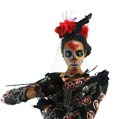 Alyce Designs, Gossamer Gang, LLC 2016 (SHFM005), Día de Muertos 16, Model: Joy Suzanne Grazer