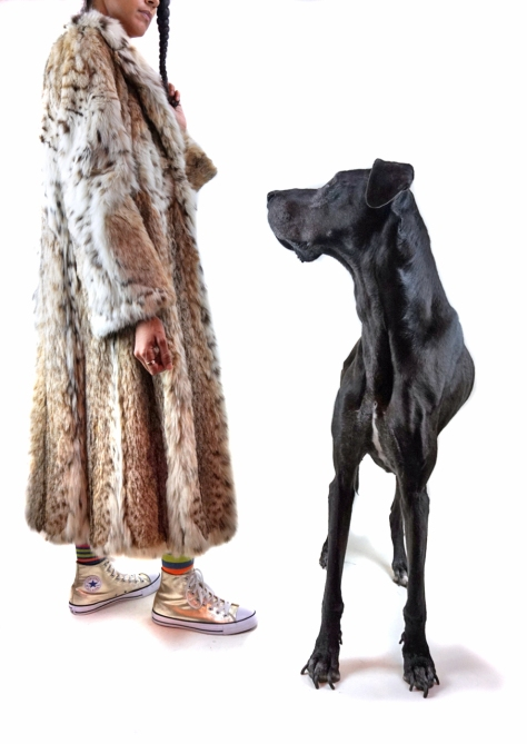 "Orphan V, Gossamer Gang, LLC 2016 (FRSWFL001). ""Lion 2016 - Sense"" Models: Joy Suzanne Grazer & Mona Spaghetti"