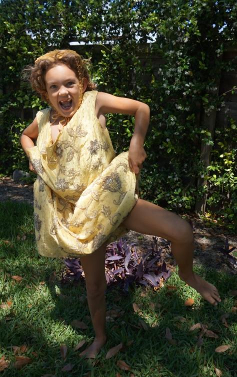"""Orphan V, Gossamer Gang, LLC 2017 (PRCT009,HAVC001). """"Easter Bunny Break-Out! - Silly Little Chic"""" Model: Poppy Burgeon"""
