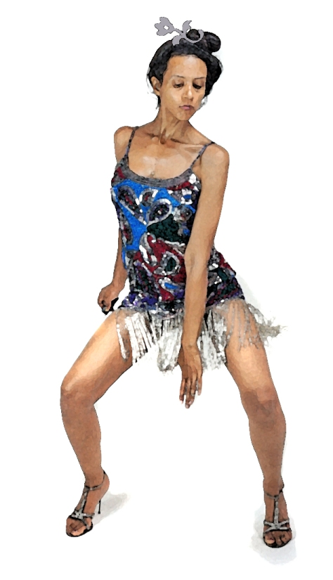 "Kush, Gossamer Gang, LLC 2017 (PRFM015). ""Independence Day, New Orleans Style"" Model: Joy Suzanne Grazer; Shoes: Dolce & Gabbana"