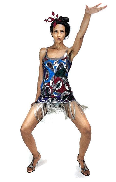 "Kush, Gossamer Gang, LLC 2017 (PRFM015). ""Independence Day, New Orleans Style."" Model: Joy Suzanne Grazer; Shoes: Dolce & Gabbana"